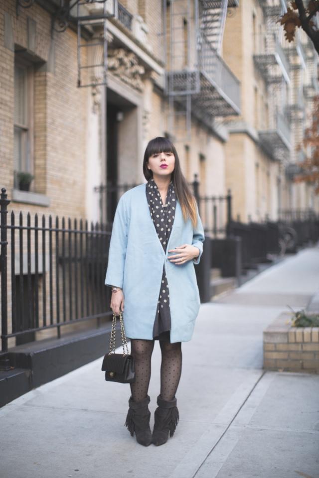 blue ciel coat